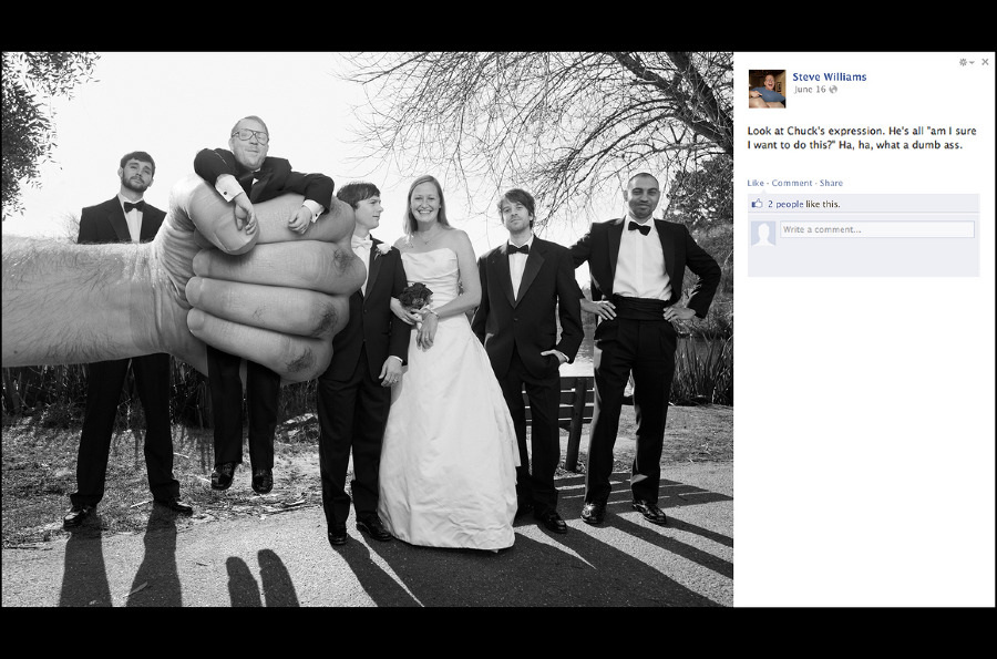 skittles commercial bride and groom