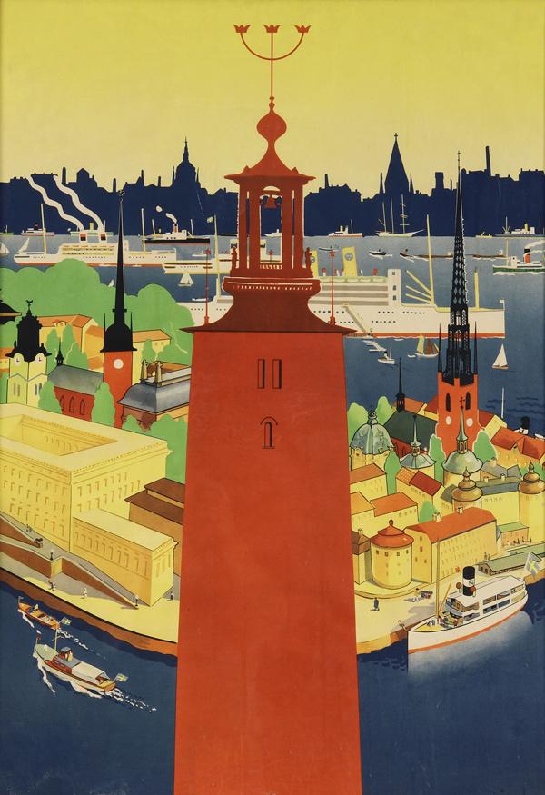 25 posters retro de suecia taringa