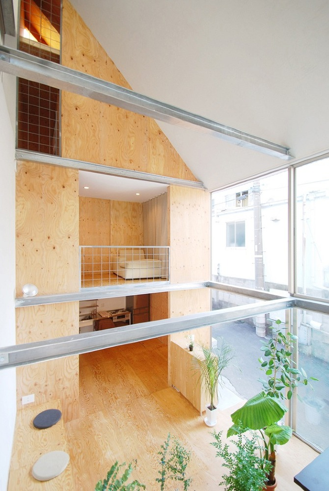 Small House in Shinjuku, Junpei Nousaku Architects, architecture, interiors, design, thisispaper, magazine